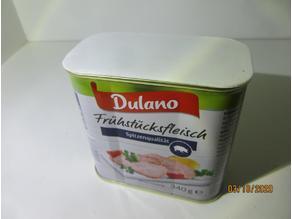 Deckel für Lidl Frühstücksfleisch