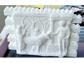 Montini Hercules Relief (Lego Compatible)