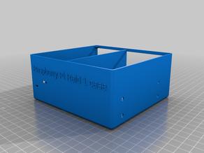 Raspberry Pi Case Raid1 + UPS Hat