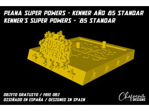 PEANA - SUPERPOWERS KENNER 1985