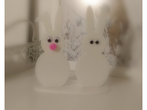 Easter bunny easy to print Osterhase Easter rabbit