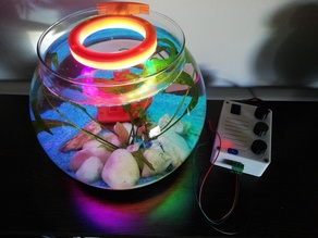 Aquarium lamp - Parametric - WS2812