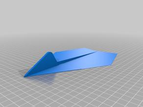 3D printed paper plane
