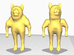 Bodybuilder meme cat (standing) (REMIX)