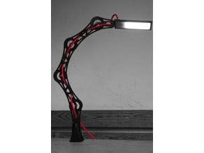Articulating LED desk lamp