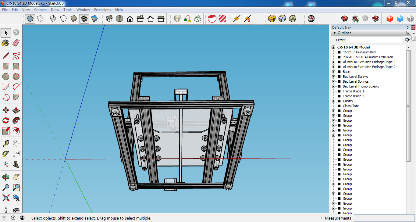 Creality CR-10 CAD Models?? - General - Creality CR-10 - Groups ...