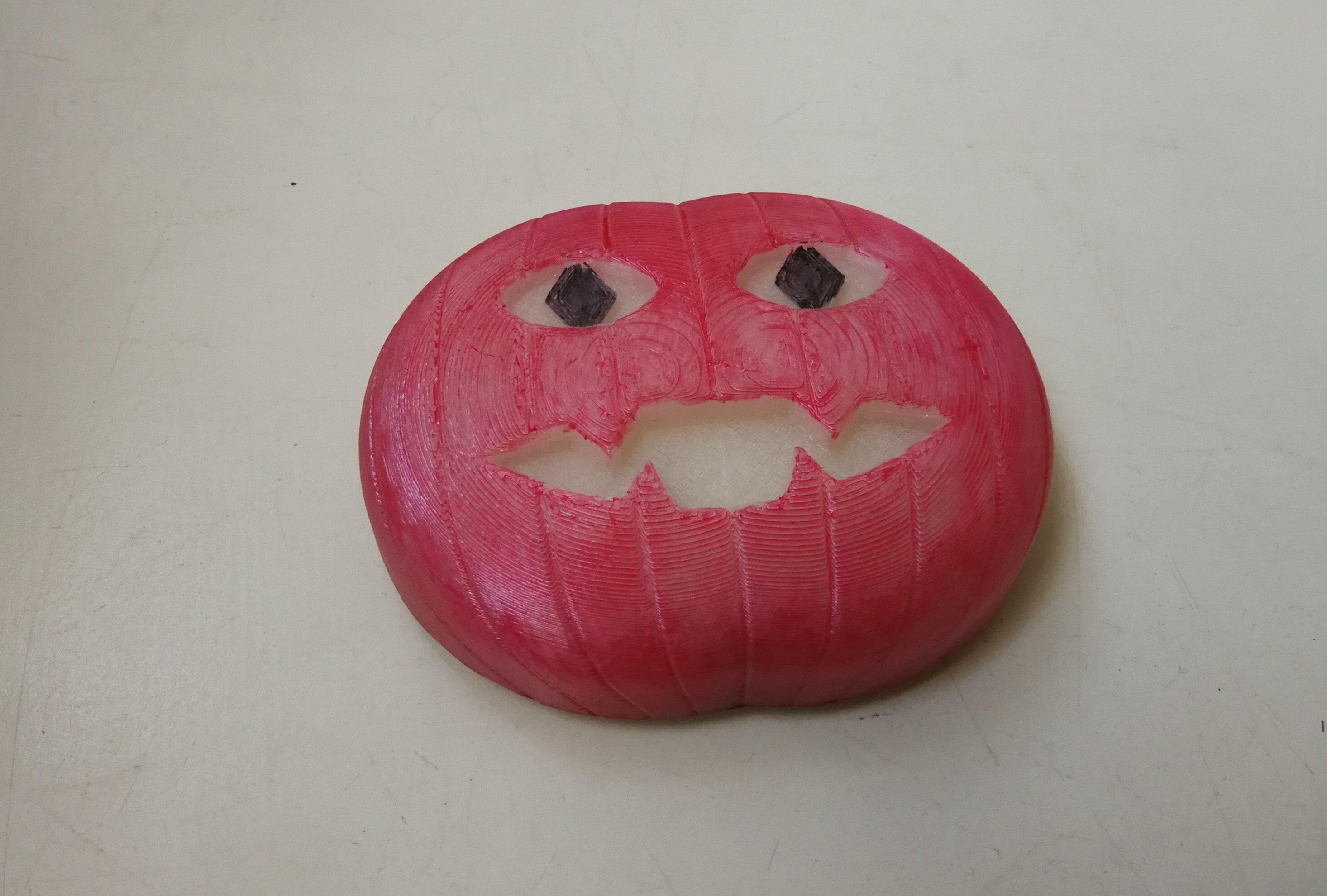 pumpkin push button for EnOcean
