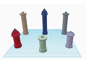 Assorted Column's for Pegasus Hobby Sets