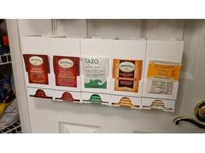 Tea Bag Dispenser - Wall Mounted - version 8