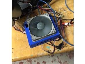 SKR v1.3 external case 120mm fan cooling