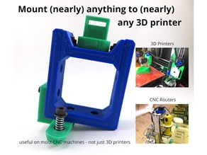 costmo Bracket - Mount anything to your 3D printer