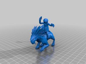 Narglatch Rider (star wars legion scale)