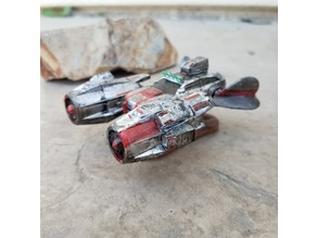 Big Engines For Martian Racing Federation (Gaslands)