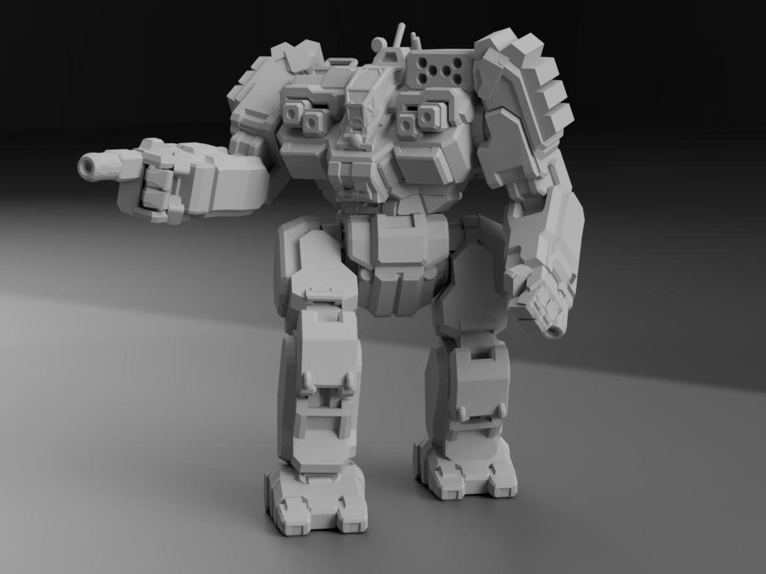 """BLR-1GHE BattleMaster """"HellSlinger"""" for Battletech"""