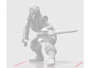 Savage Female Barbarian