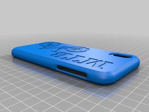 MTB iphone xs flexible case