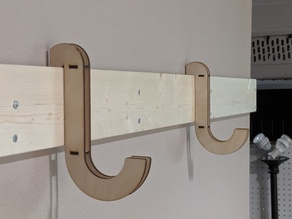 French Cleat Hanger