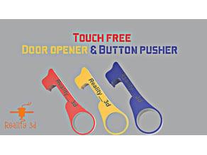 Door opener and button pusher