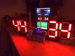 7 Segment stand for a Scoreboard