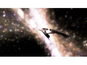 Star Trek Enterprise A / Refit