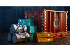 Warships - Containers