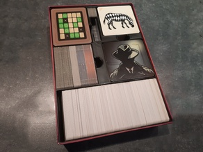 Codenames + Pictures + Duet Box Insert