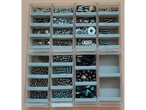 Multi Drawer Storage Organiser Containers