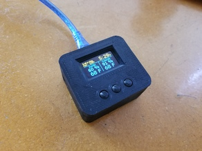 Smarthome 3-button Remote w/ OLED