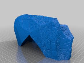 Textured Rock Cave