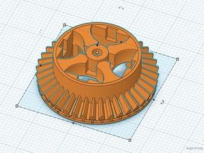 Differenzial HSP 1:16 Trojan Himoto Buggy 86031