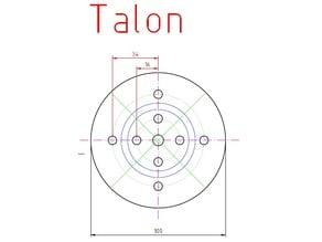 Woodturning Chuck Jaw Plan (Talon)