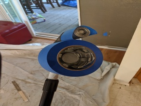 Extention Pole Mounted Tape Roller 2000!