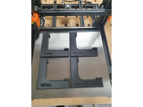 Router templates for inner corners - Metric