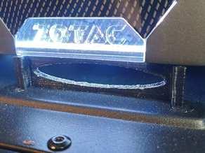Cooler Master Silencio s400 - 2.5 slot bracket