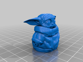 baby yoda no supports needed