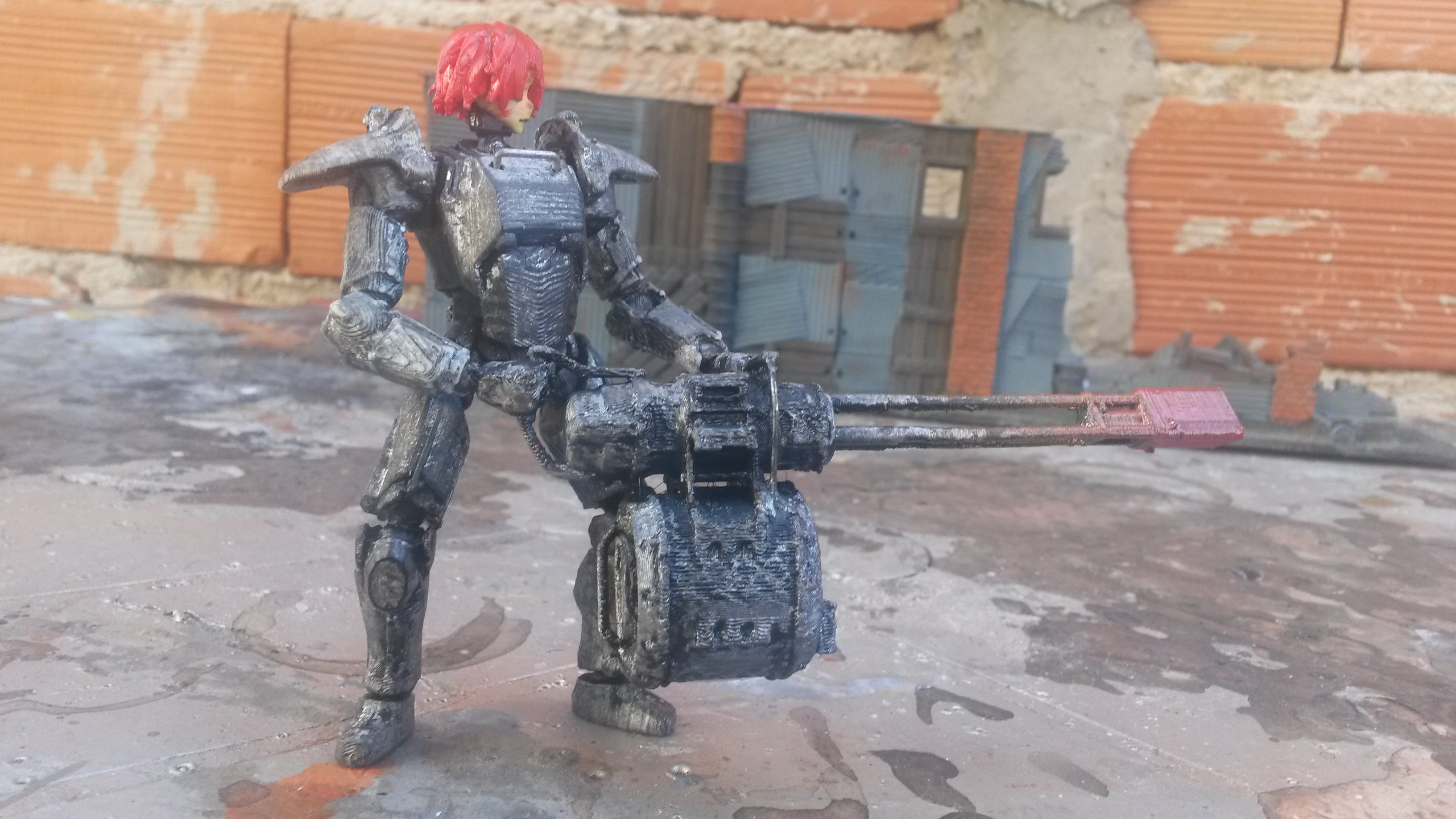 Fallout 4 Minigun for Fallout Joe