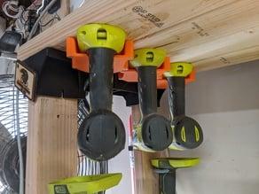 Overhead Ryobi Tool Hanger