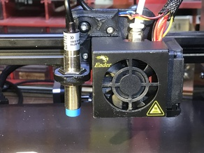 Geoffs Ender 3 Auto Level Bracket for an Inductive Sensor