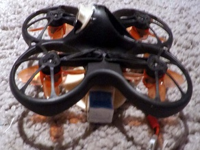 Tinyhawk battery mounts and landing gear