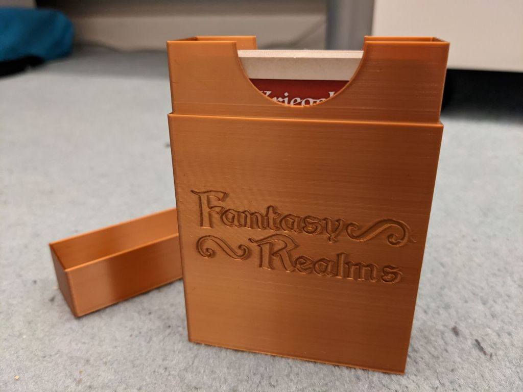Fantasy Realms card box