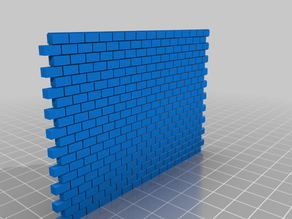 Cinder Block & Wall 1:64