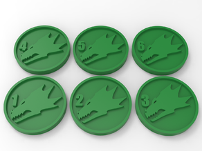 Salamanders Objectives Markers