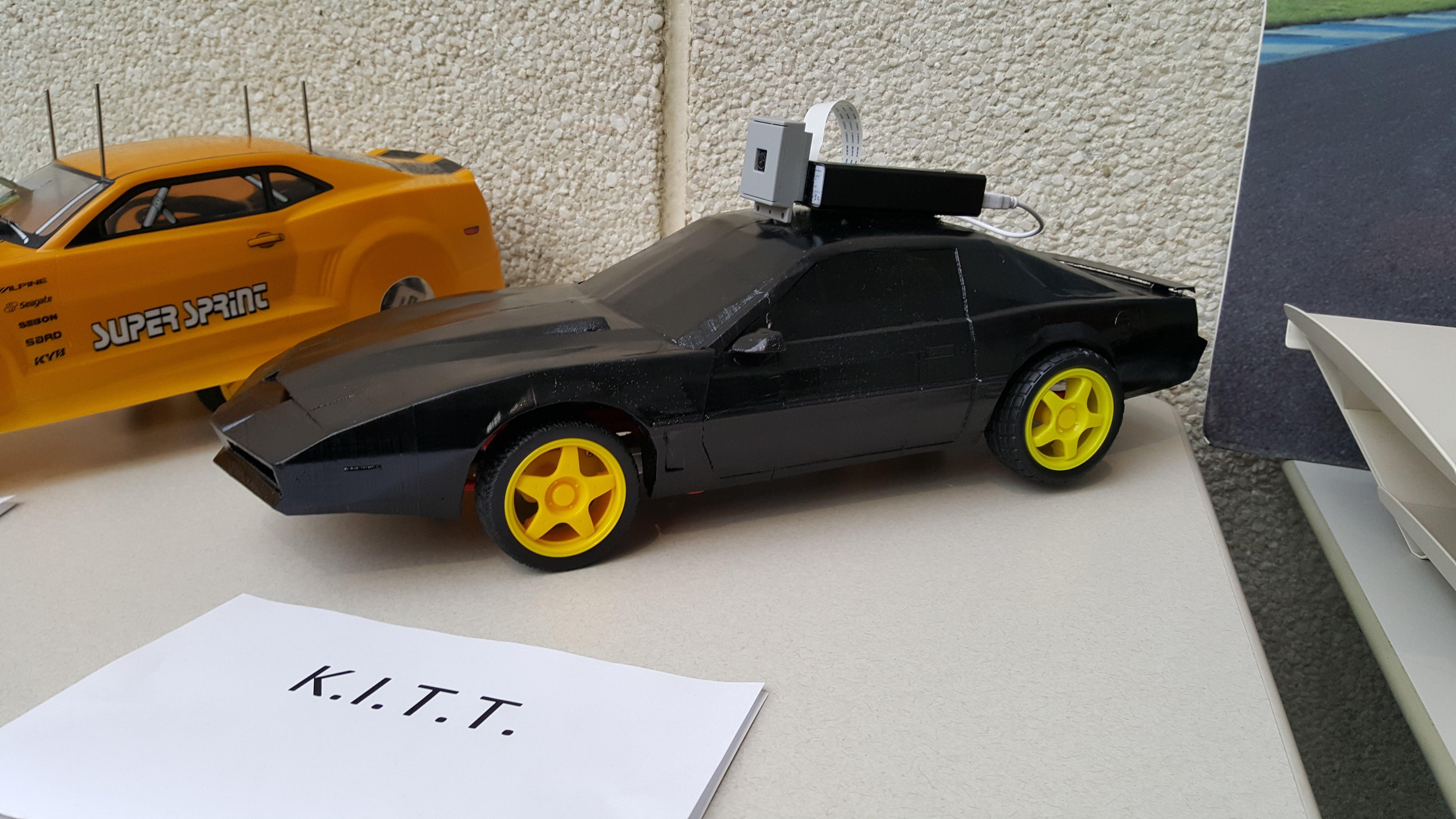 Knight Rider Knight Industries 2000 KITT by Swift2568