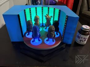 Star Trek Transporter Diorama for Mini Figures