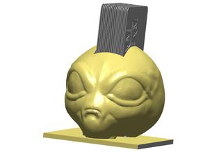 Area 51 Alien Business Card Holder