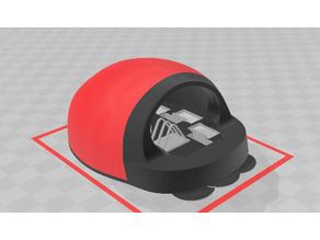 Lady Bug Lawn Mower Raspberry Pi Robot Rover Kit 6wd