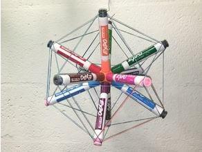 Dodecahedron Marker Holder