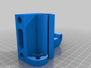 Prusa X End Motor with T8 Brass Nut (MK3s)