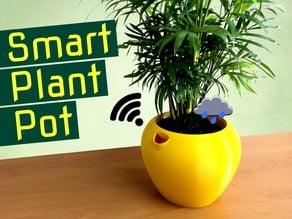 "Smart, Self-watering Plant Pot Planter ""Flaura"""