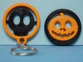 Gadget et Keychain Halloween